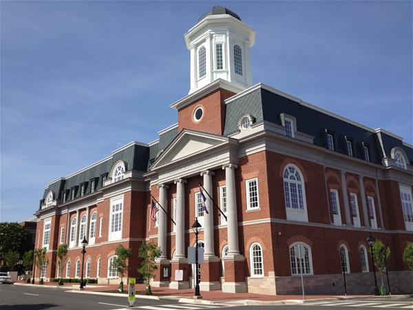The new Courthouse located at 701 Princess Anne St