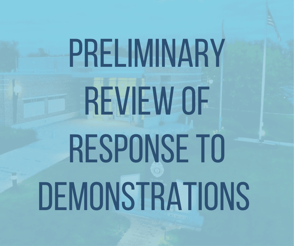 Preliminary Review of Demonstratoin (1)