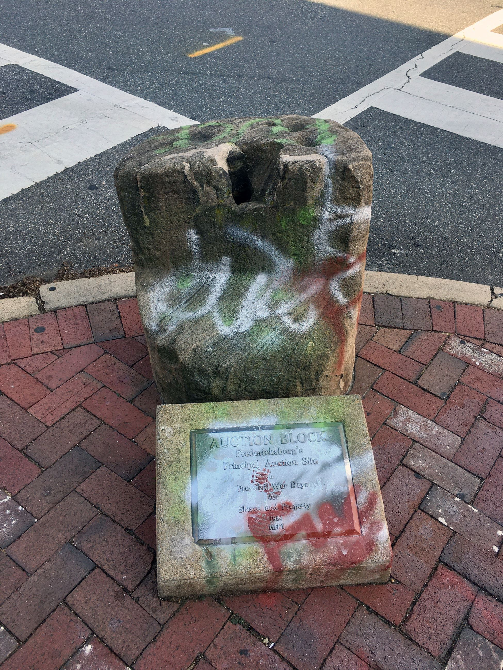 Auction Block w graffiti 4 - credit COF