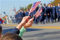 Veterans Day Procession
